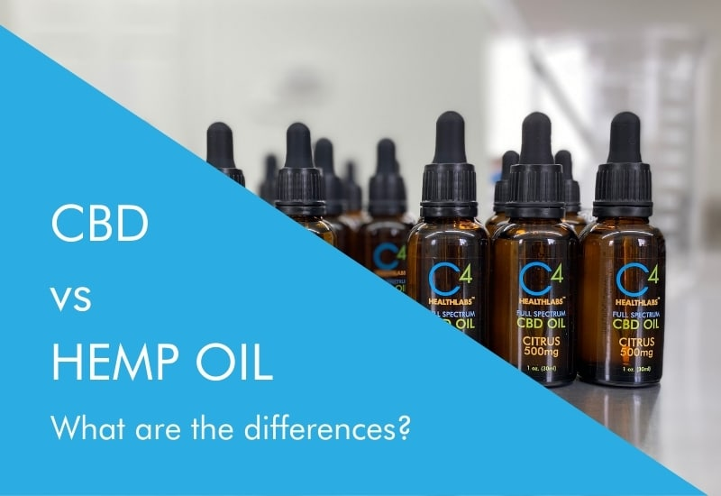 cbd oil vs hemp oil: what are the differences
