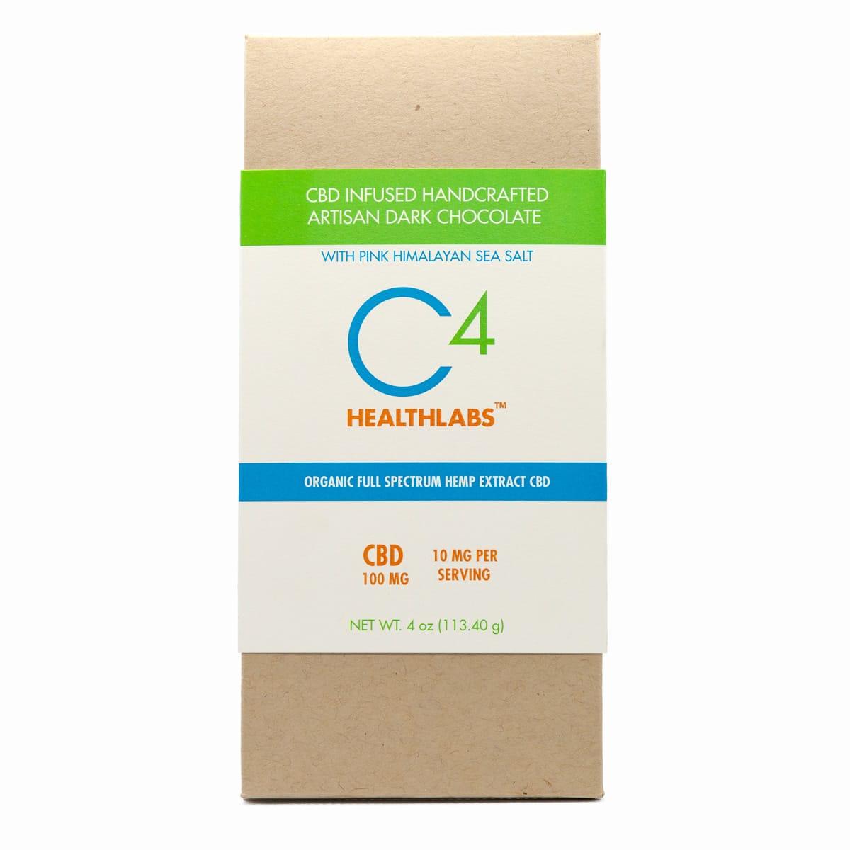 C4 Healthlabs 100 MG CBD Chocolate Bar