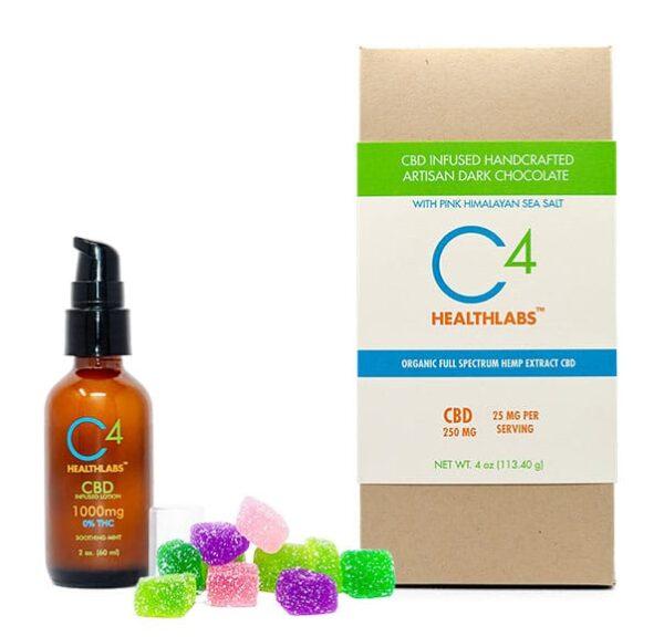 C4 Healthlabs hemp cbd products