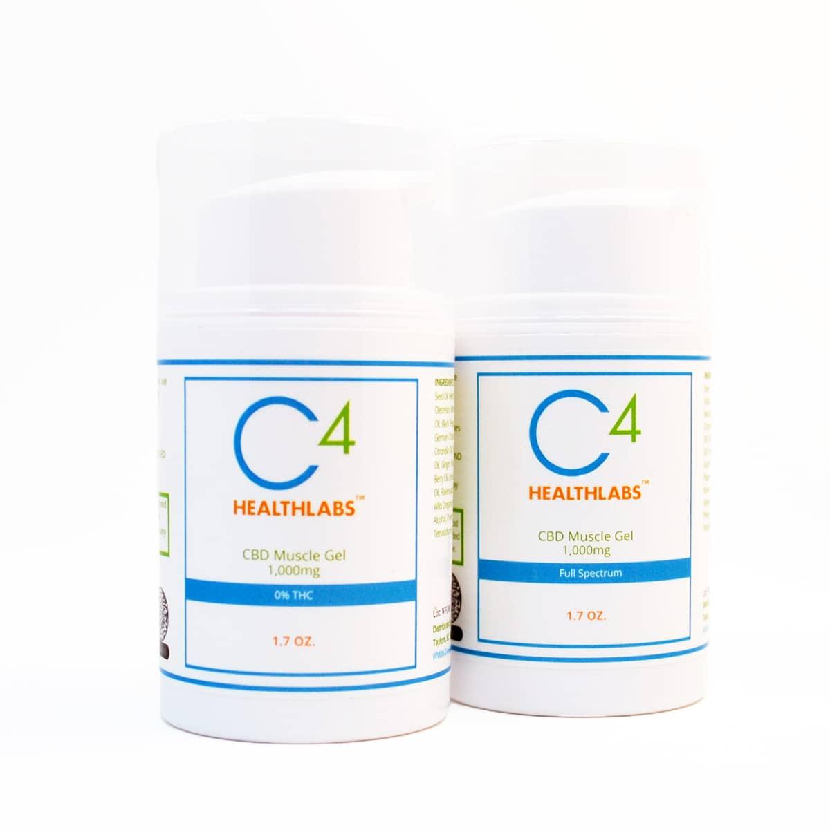 c4 healthlabs cbd muscle gel